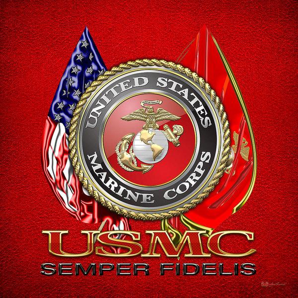 us-marine-corps-usmc-emblem-on-red-serge-averbukh