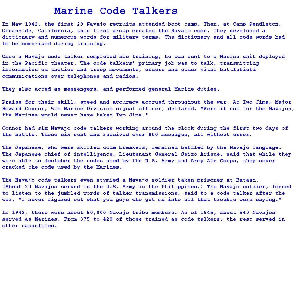 Marine-Code-Talkers